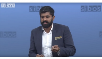 Udayan Goyal moderates the Future of Money session at Sibos 2016