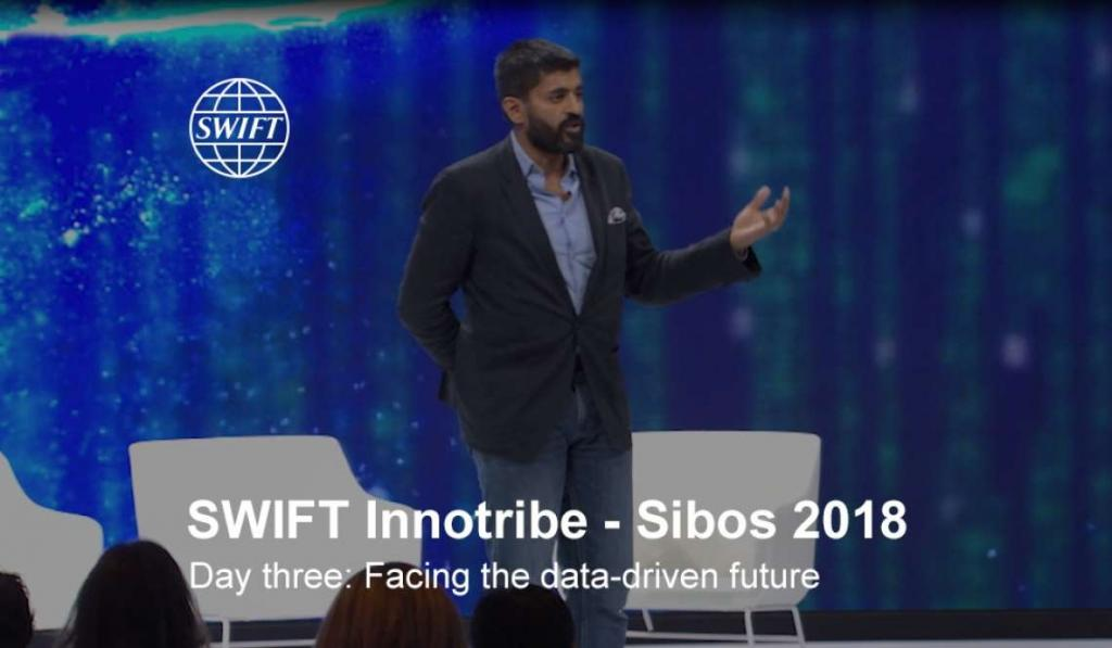 Facing the data-driven future – Uday Goyal presenting at Innotribe Sibos