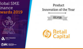 Retail Capital, part of Apis Portfolio Company CATS was awarded Silver for Product Innovation of the Year by the Global SME Finance Awards