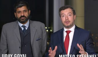 """Uday Goyal and Matteo Stefanel on the """"Blue Ocean of Emerging Markets"""" in partnership with Prudential"""